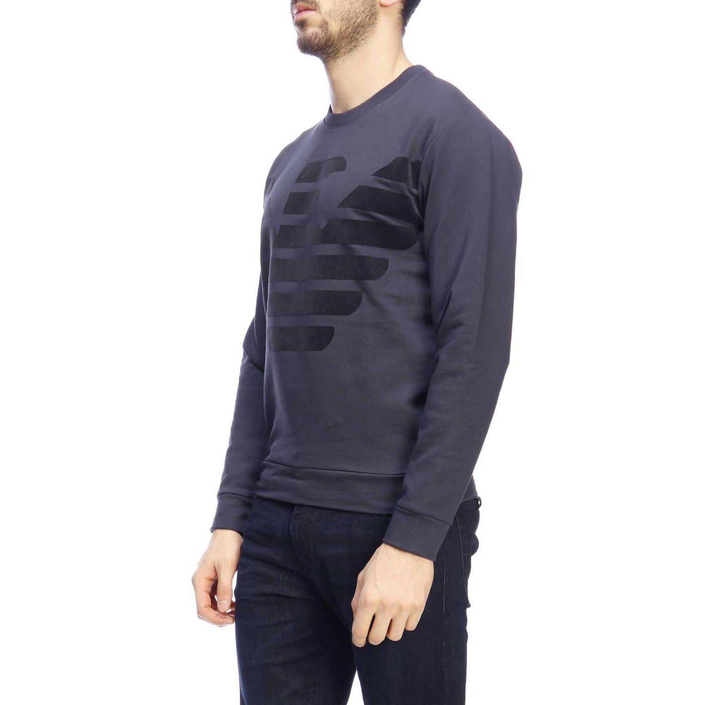 Sweater men Emporio Armani blue 2