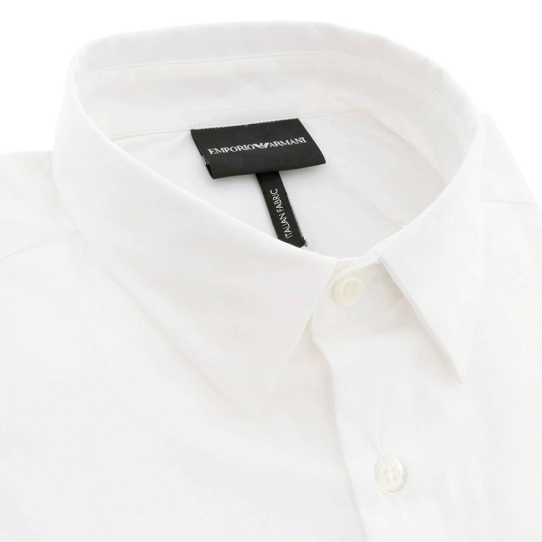 衬衫 男士 Emporio Armani 白色 2