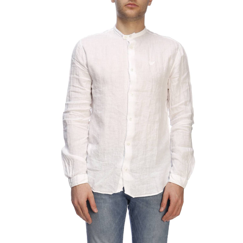Chemise homme Emporio Armani blanc 1