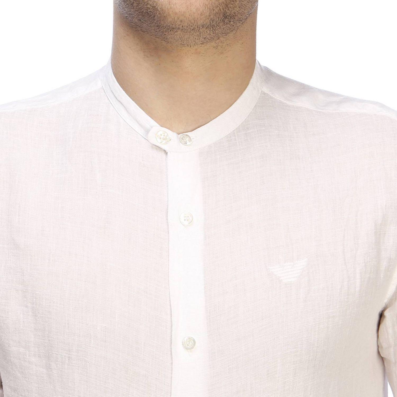Chemise homme Emporio Armani blanc 4