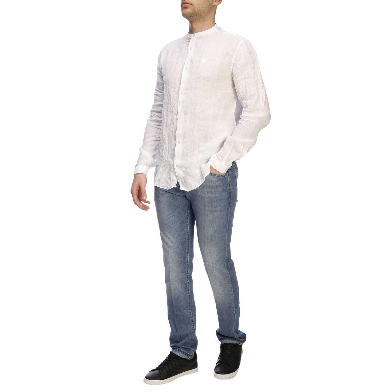 Chemise homme Emporio Armani blanc 5