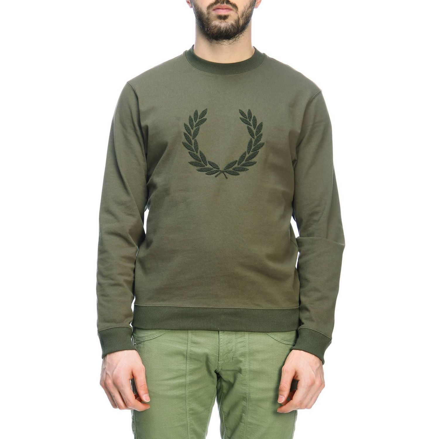 Sweater men Fred Perry military 1