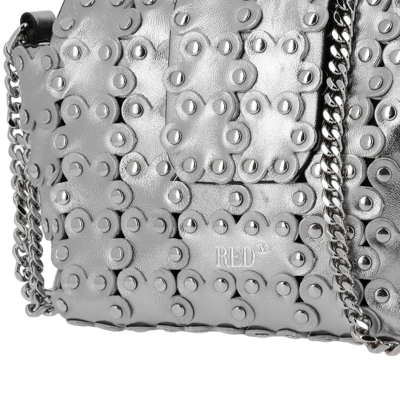 Shoulder bag women Red Valentino silver 4