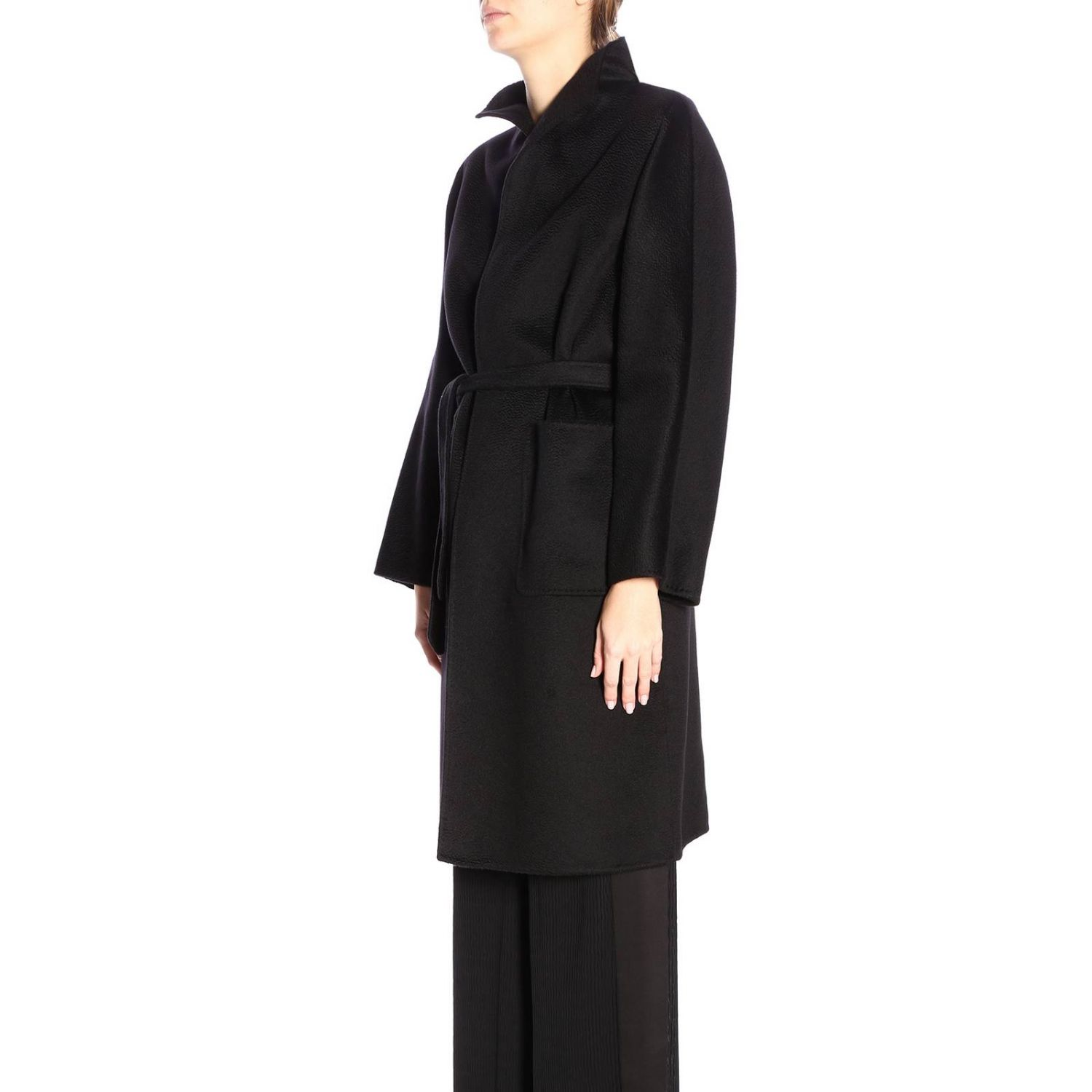 Coat Max Mara: Coat women Max Mara black 2