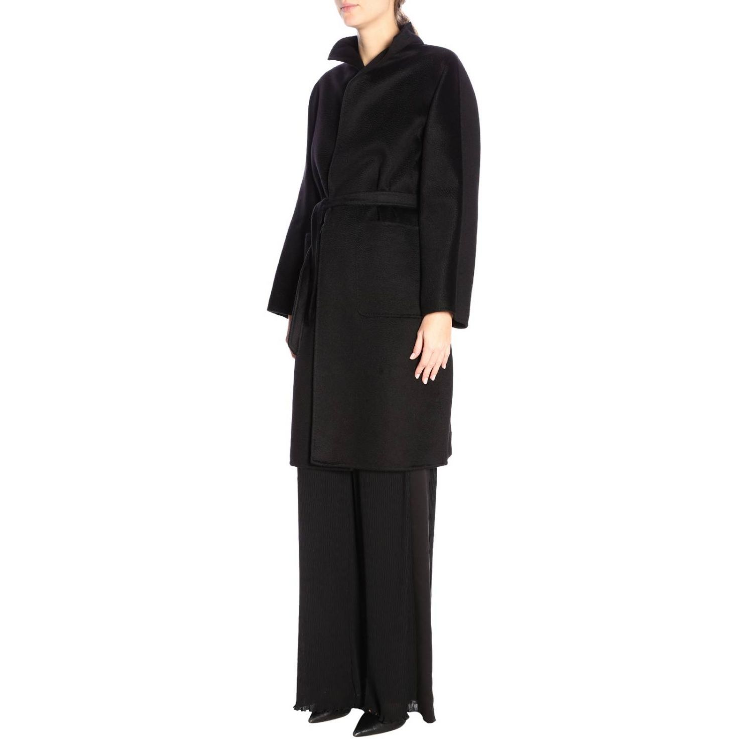 Coat Max Mara: Coat women Max Mara black 4