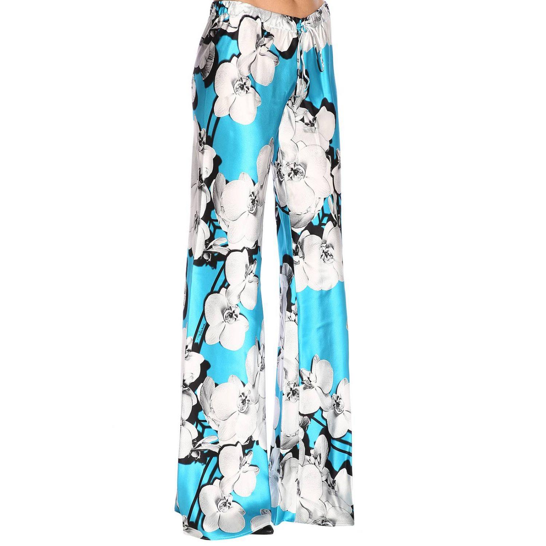 Pantalon femme Roberto Cavalli bleu azur 2