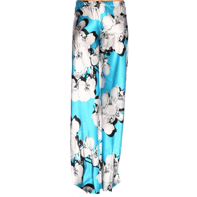 Pantalon femme Roberto Cavalli bleu azur 3