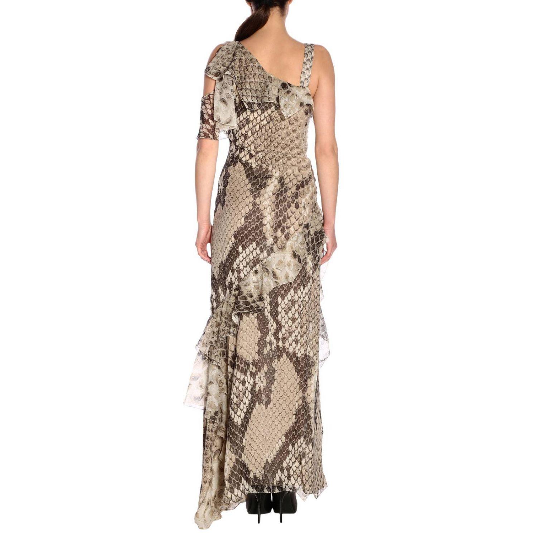 Dress women Roberto Cavalli beige 3