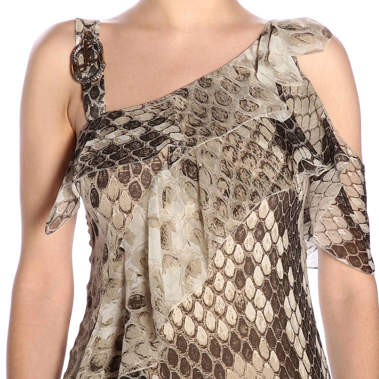 Dress women Roberto Cavalli beige 4