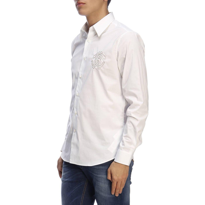 衬衫 男士 Roberto Cavalli 白色 2
