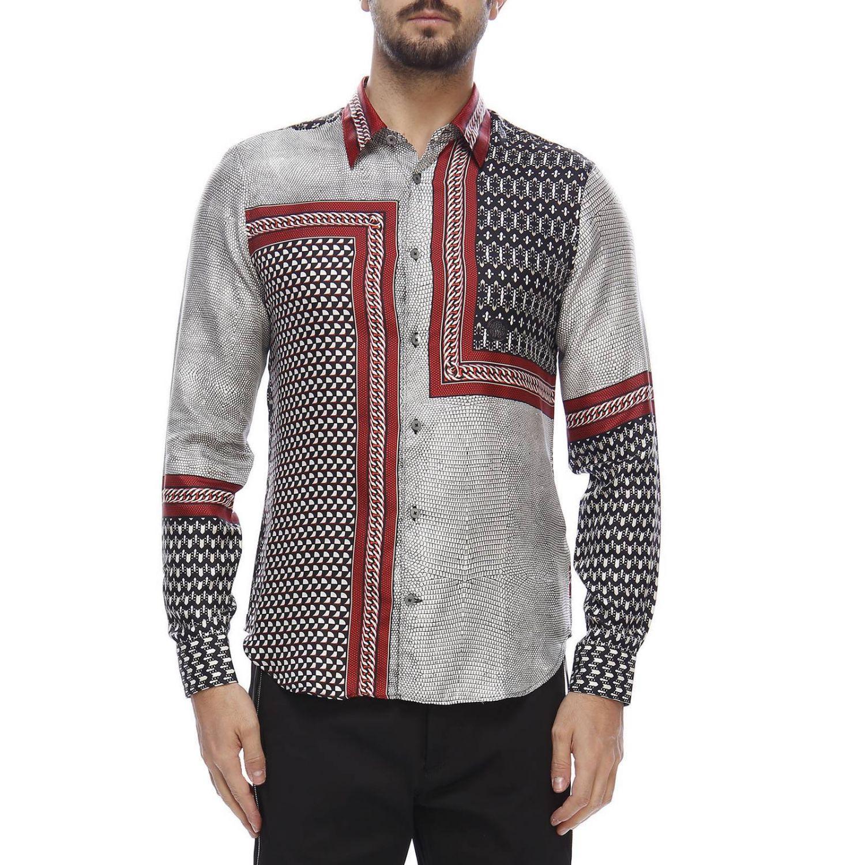 Shirt men Roberto Cavalli grey 1
