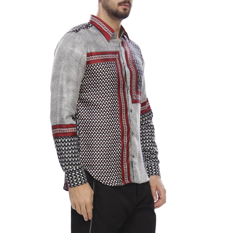 Shirt men Roberto Cavalli grey 2