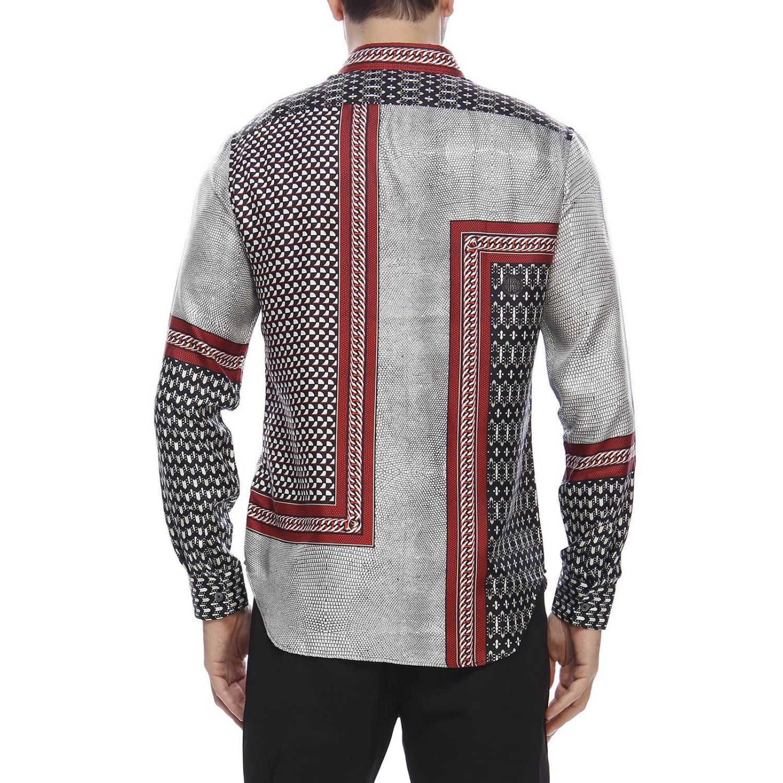 Shirt men Roberto Cavalli grey 3