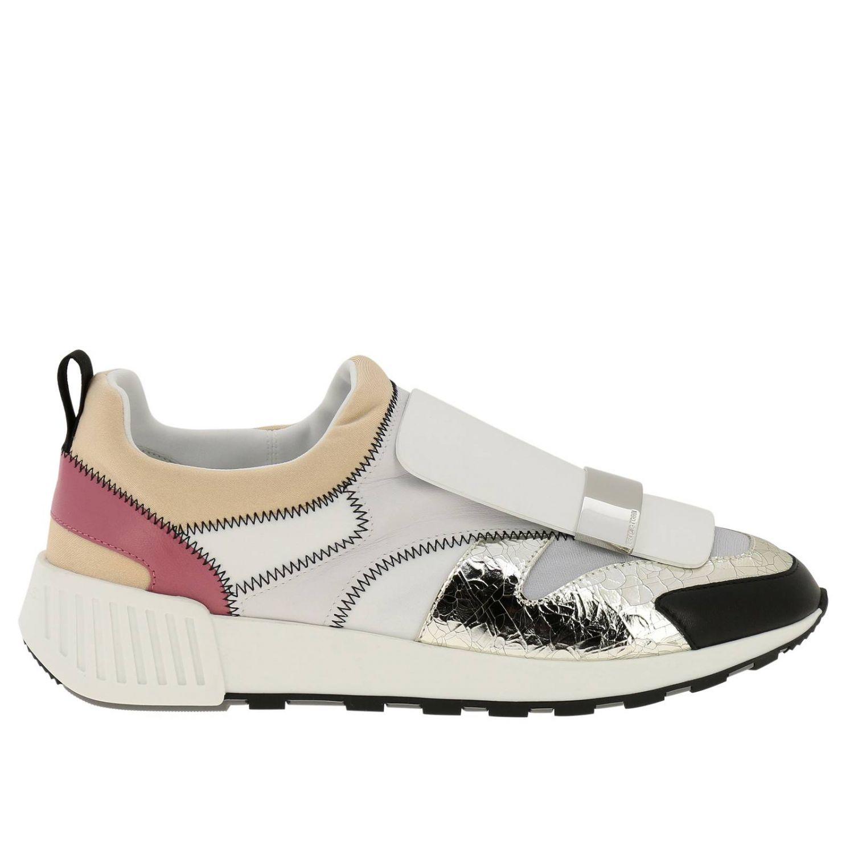 Zapatos mujer Sergio Rossi blanco 1