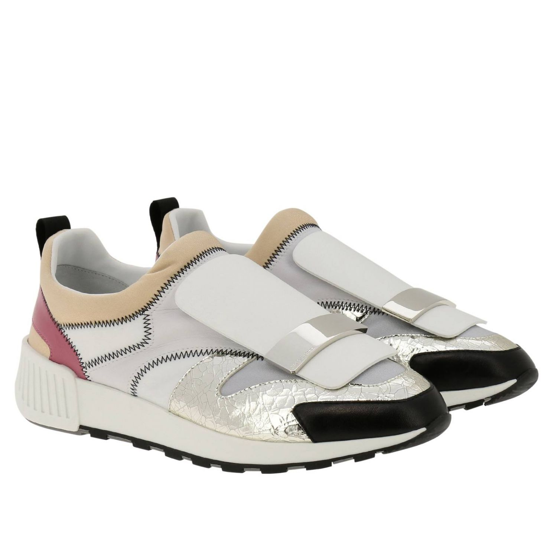 Zapatos mujer Sergio Rossi blanco 2
