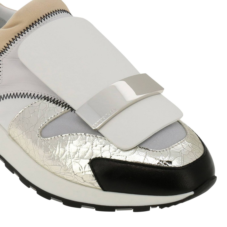 Zapatos mujer Sergio Rossi blanco 3