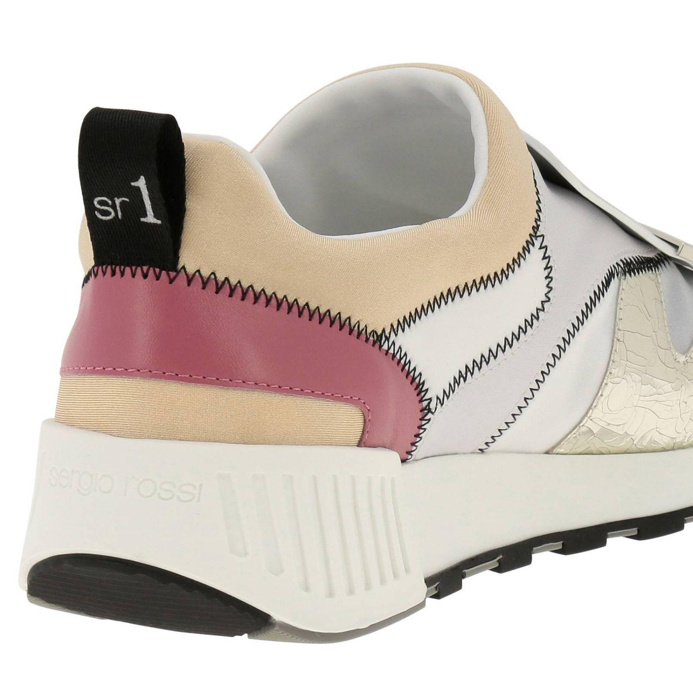 Zapatos mujer Sergio Rossi blanco 4