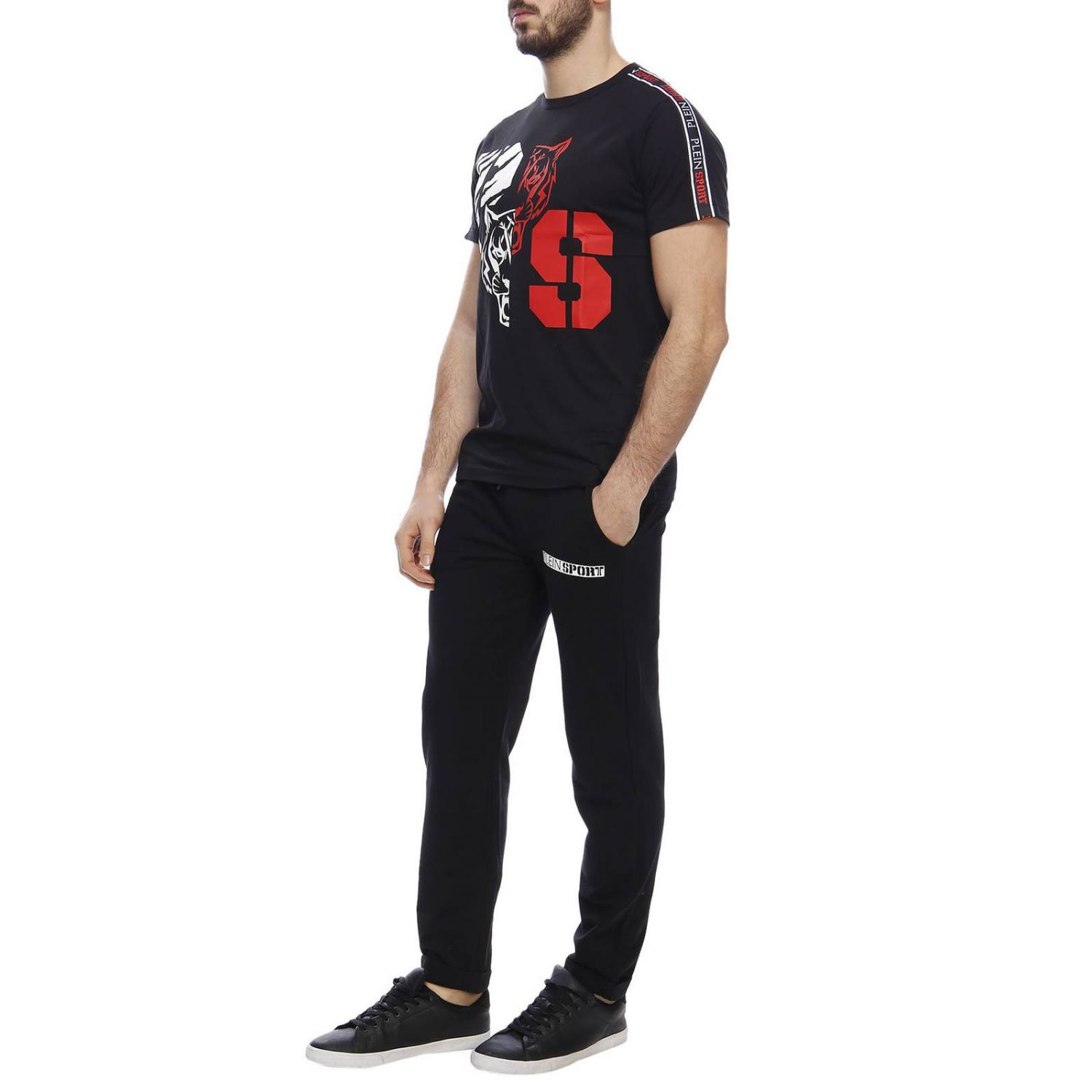 T-shirt men Plein Sport black 4