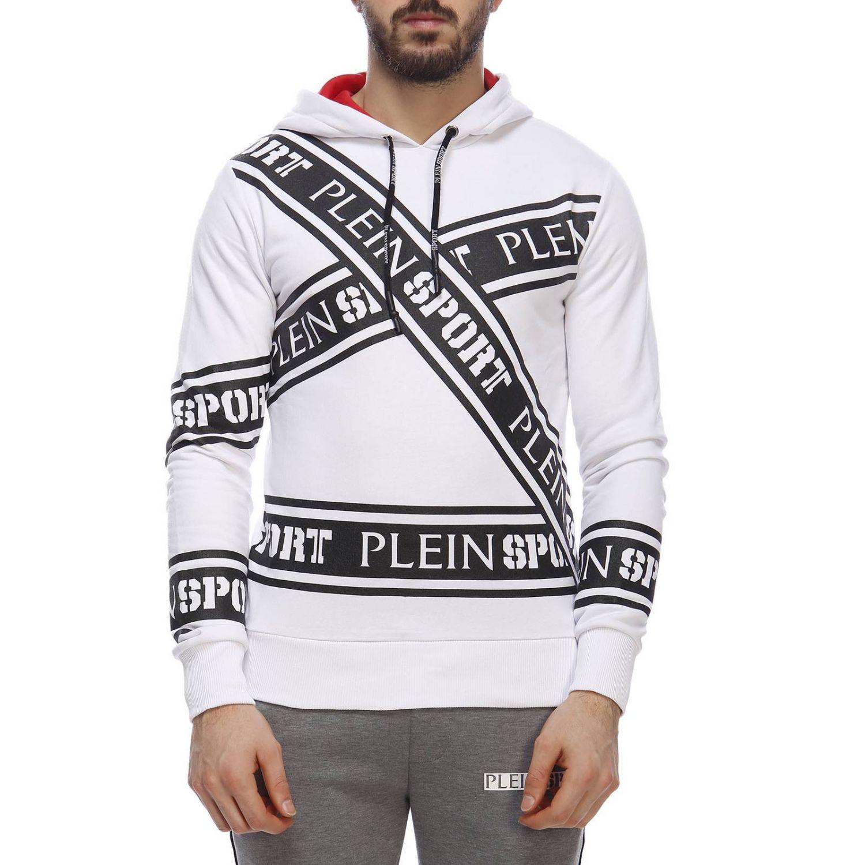 Pullover herren Plein Sport weiß 1