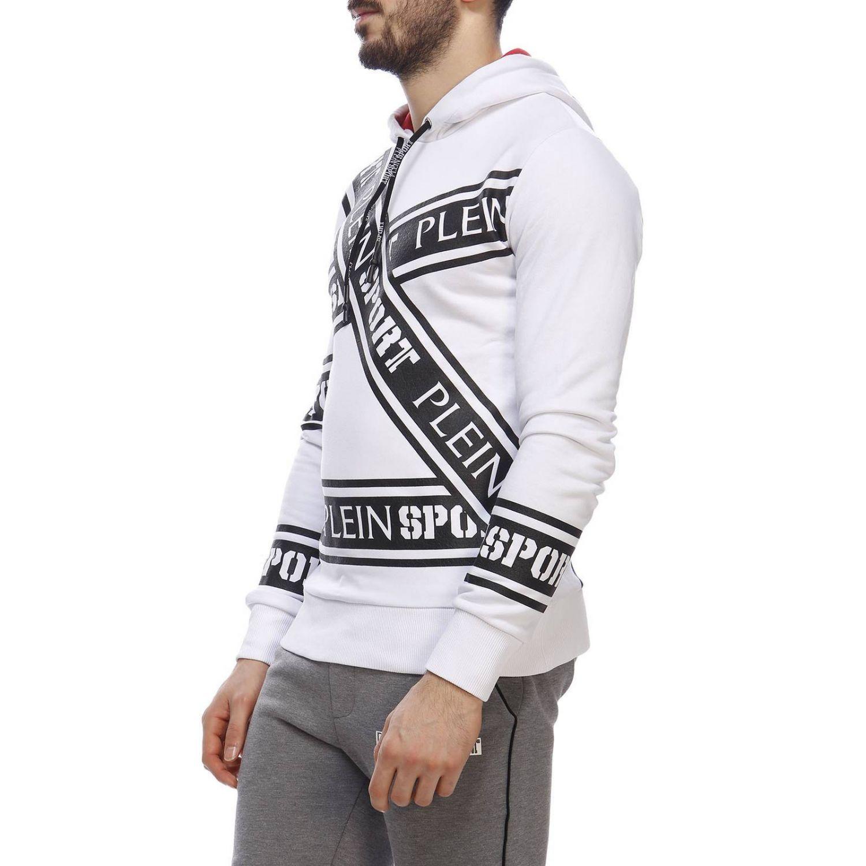 Pullover herren Plein Sport weiß 2