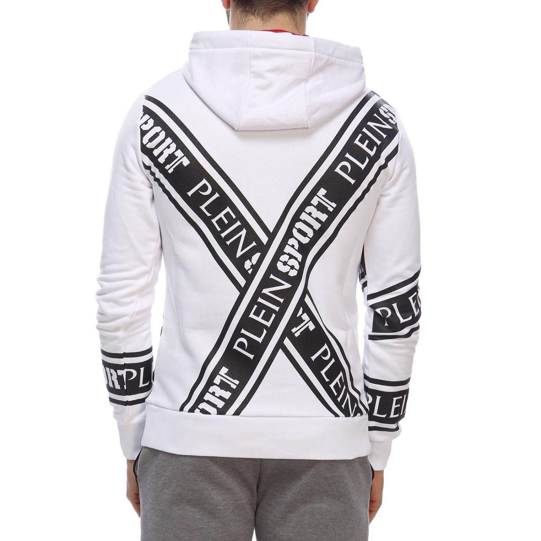 Pullover herren Plein Sport weiß 3