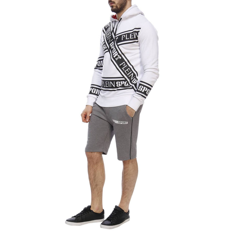 Pullover herren Plein Sport weiß 5