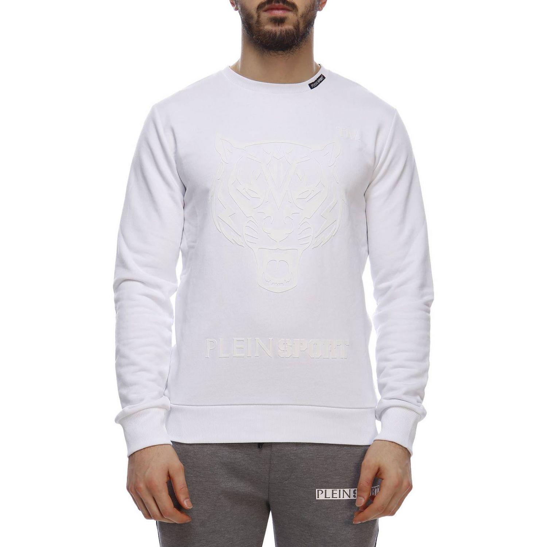 Sweater men Plein Sport white 1