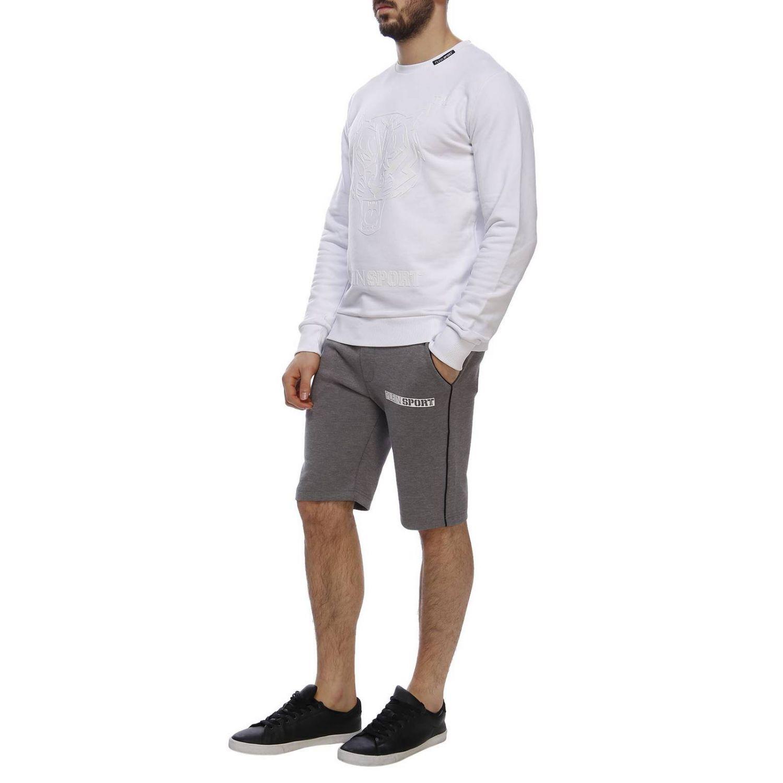 Sweater men Plein Sport white 4