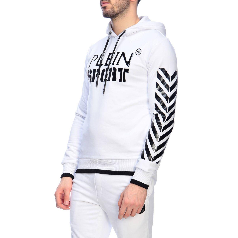 Свитер Мужское Plein Sport белый 2