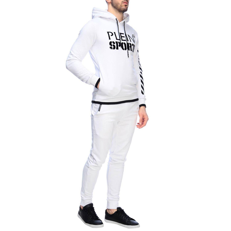 Свитер Мужское Plein Sport белый 5