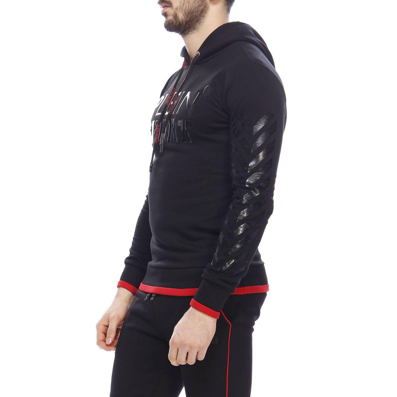 Jersey hombre Plein Sport negro 2