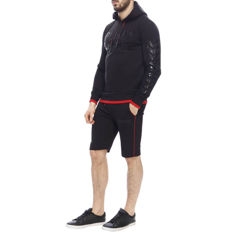 Jersey hombre Plein Sport negro 5