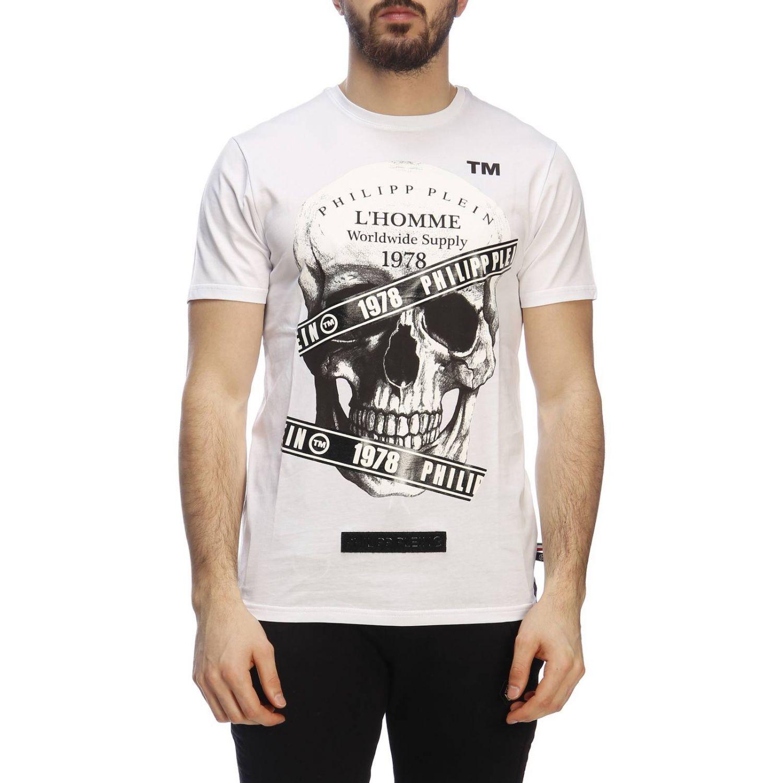 T恤 男士 Philipp Plein 白色 1