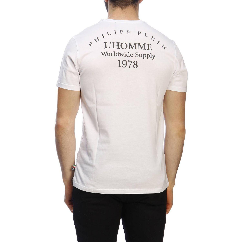 T恤 男士 Philipp Plein 白色 3