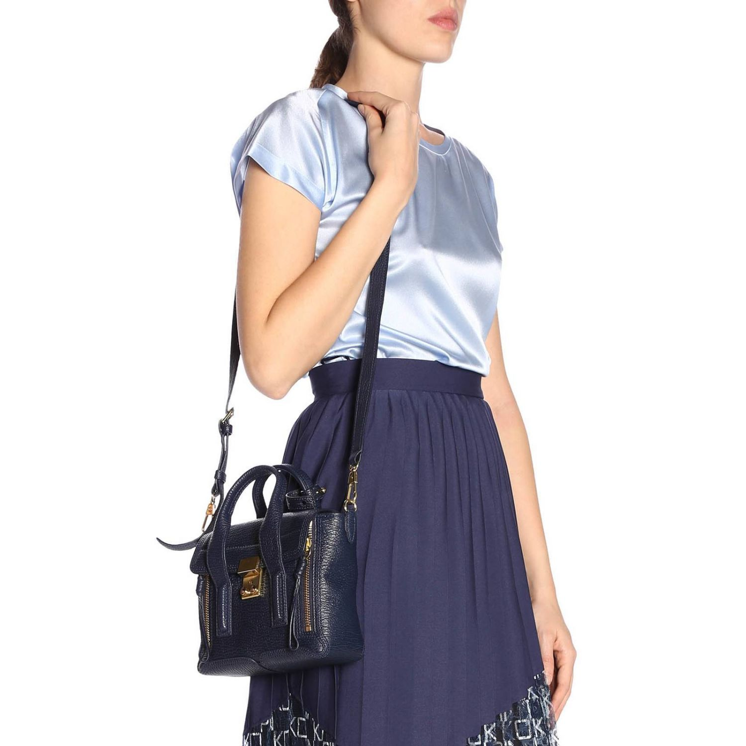 Shoulder bag women 3.1 Phillip Lim blue 2