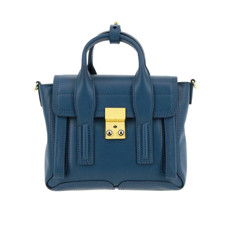 Shoulder bag women 3.1 Phillip Lim teal 1