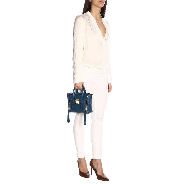 Shoulder bag women 3.1 Phillip Lim teal 2