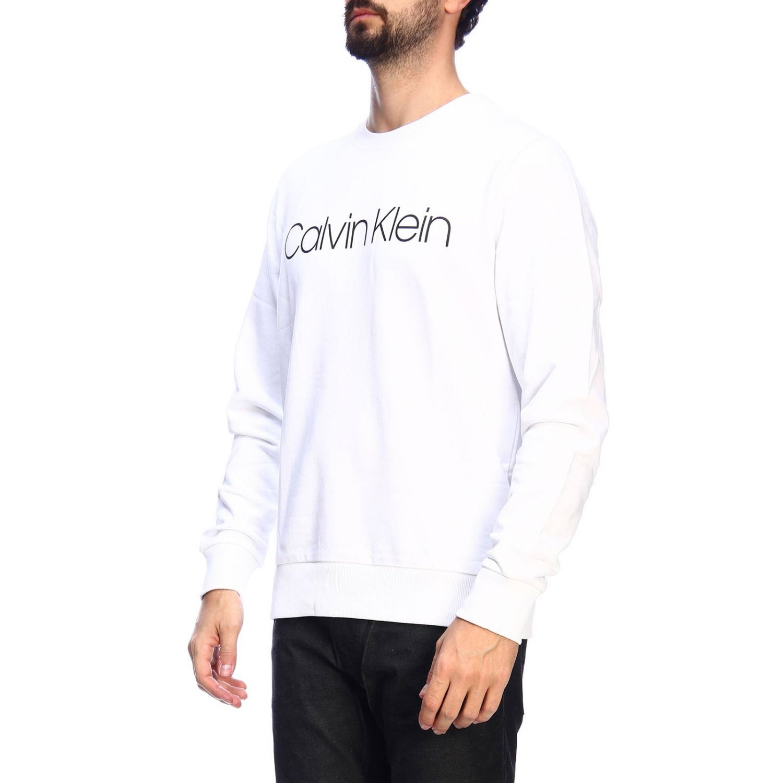 Pull homme Calvin Klein blanc 2