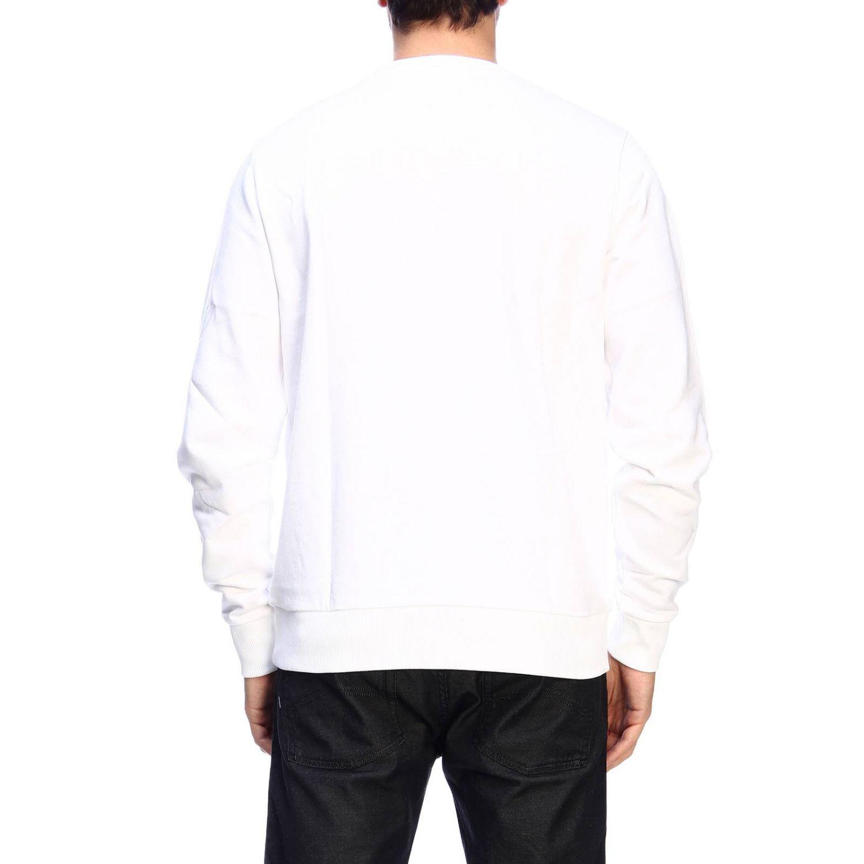 Pull homme Calvin Klein blanc 3
