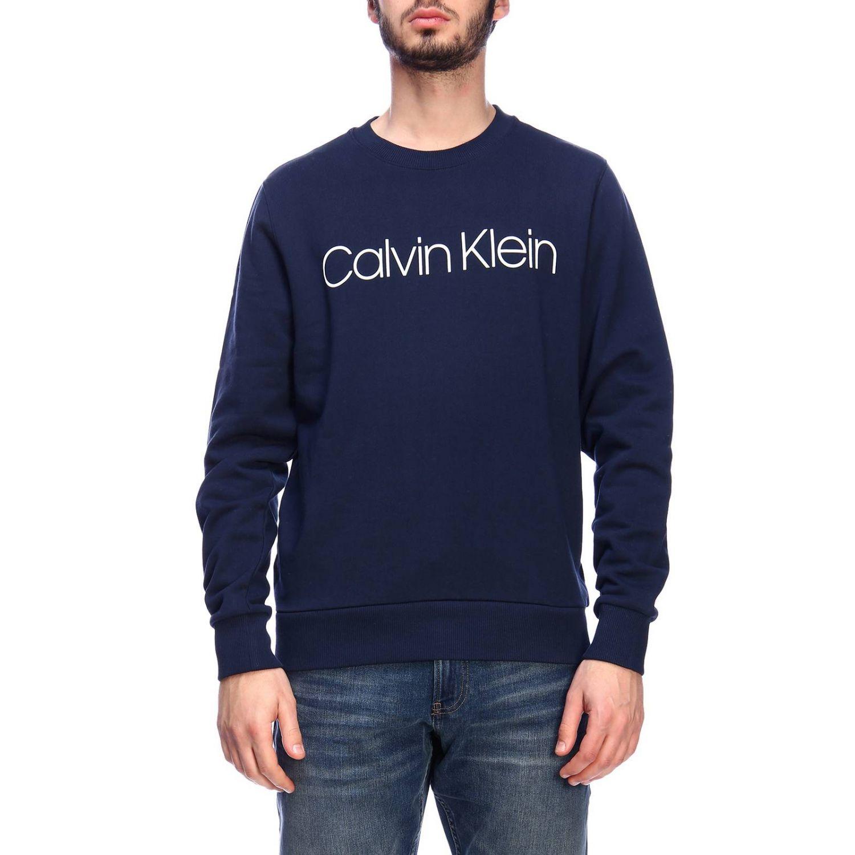 Pull homme Calvin Klein bleu 1