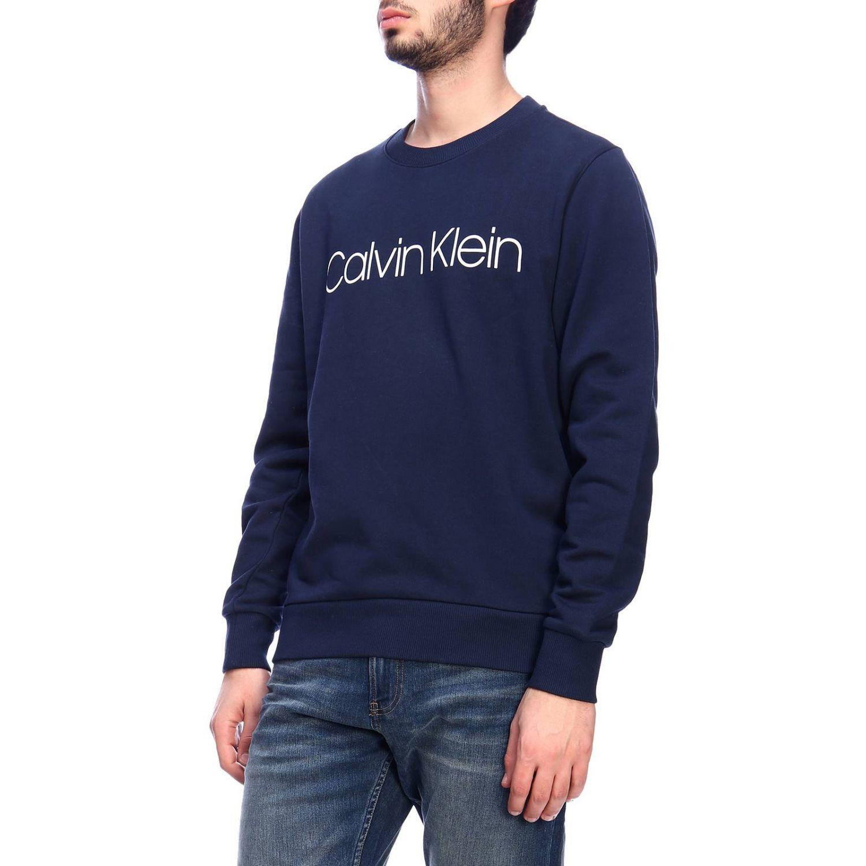 Pull homme Calvin Klein bleu 2