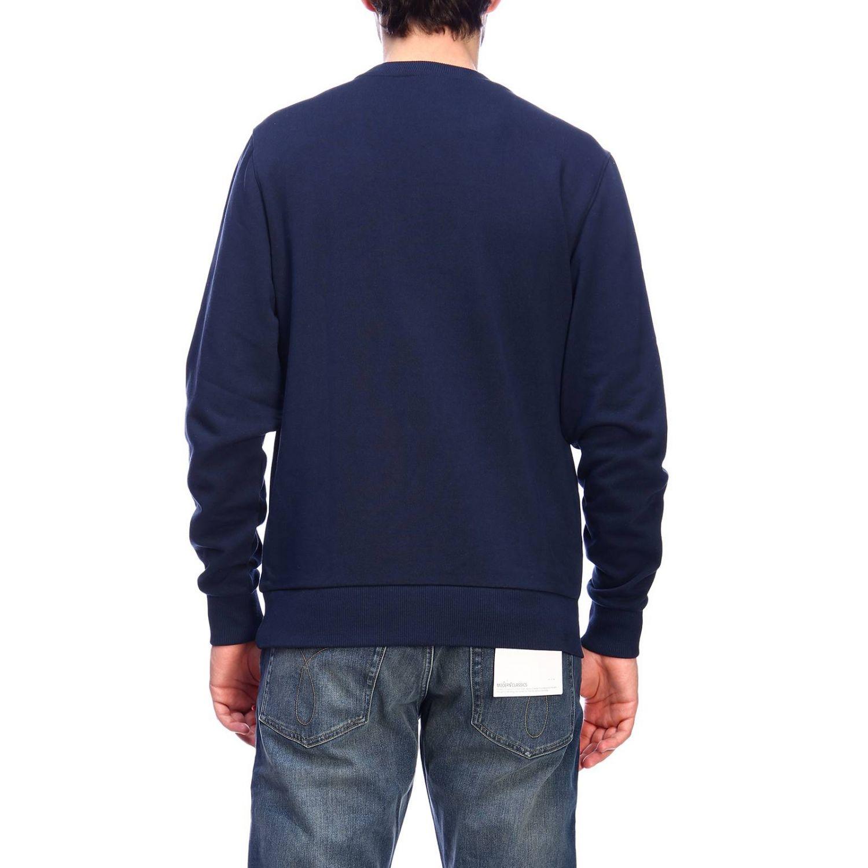 Pull homme Calvin Klein bleu 3