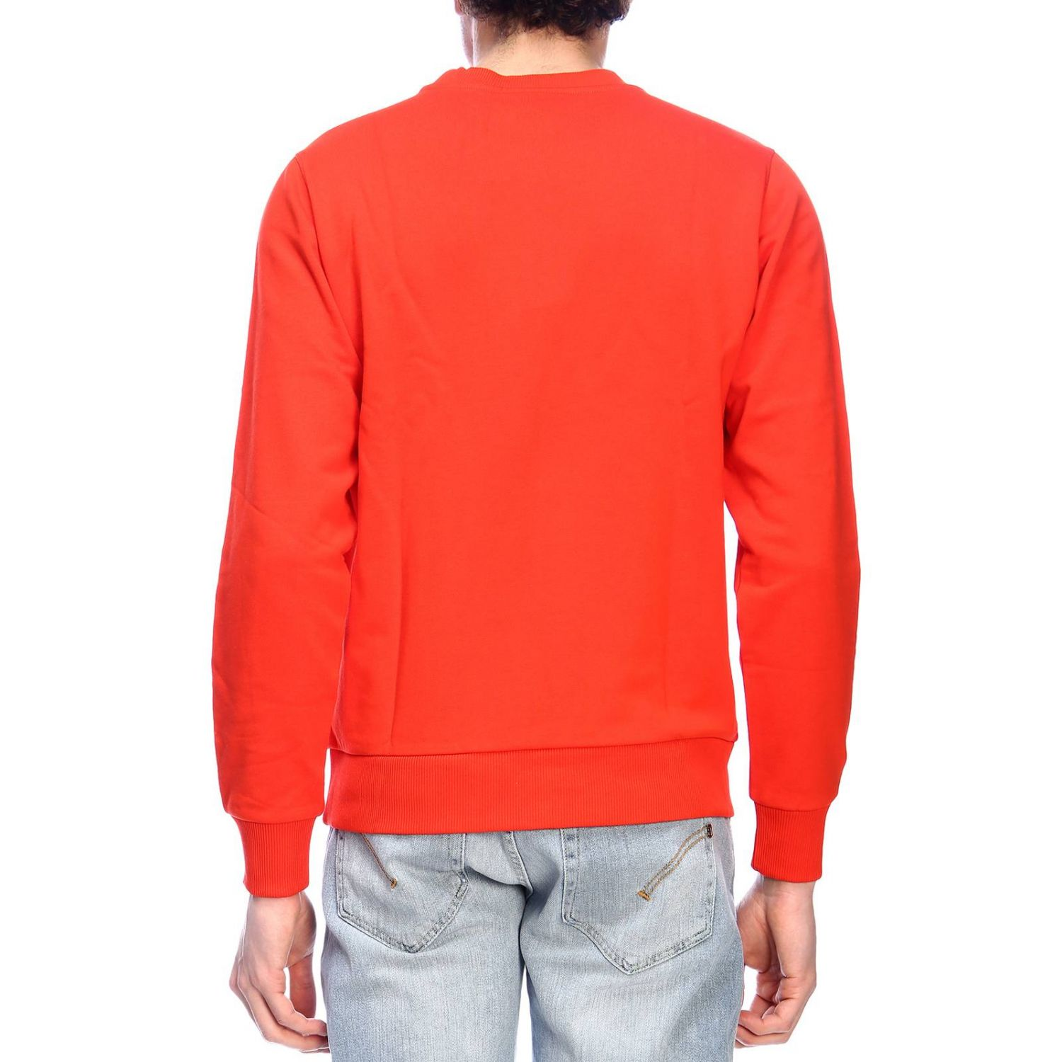 Pull homme Calvin Klein rouge 3