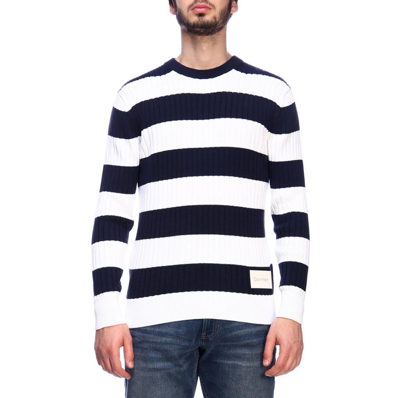 Pullover herren Calvin Klein blau 1