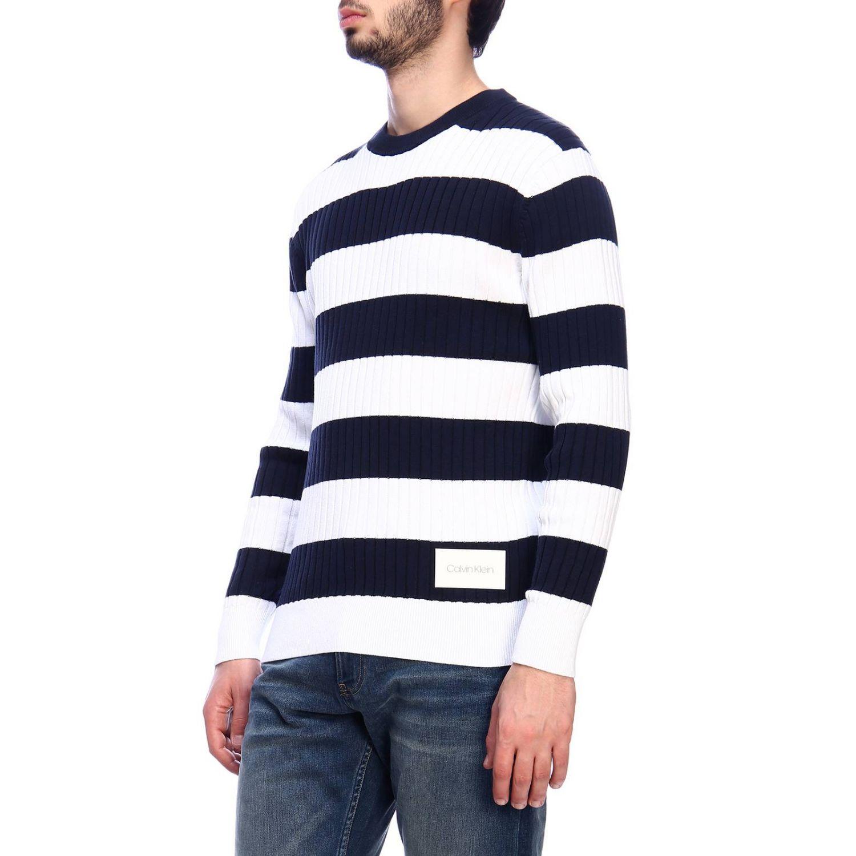 Pullover herren Calvin Klein blau 2