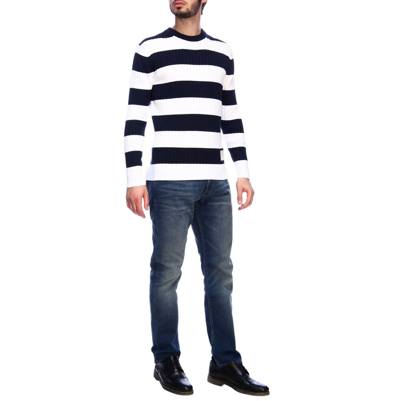 Pullover herren Calvin Klein blau 4