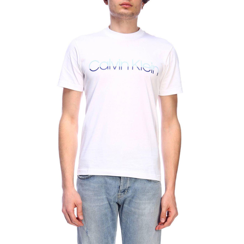 T-Shirt Calvin Klein: T-shirt herren Calvin Klein royal blue 1