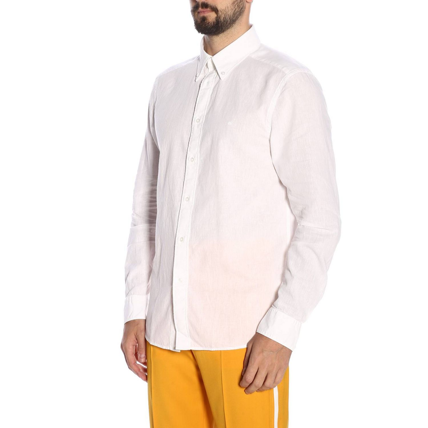 Shirt men Calvin Klein white 2