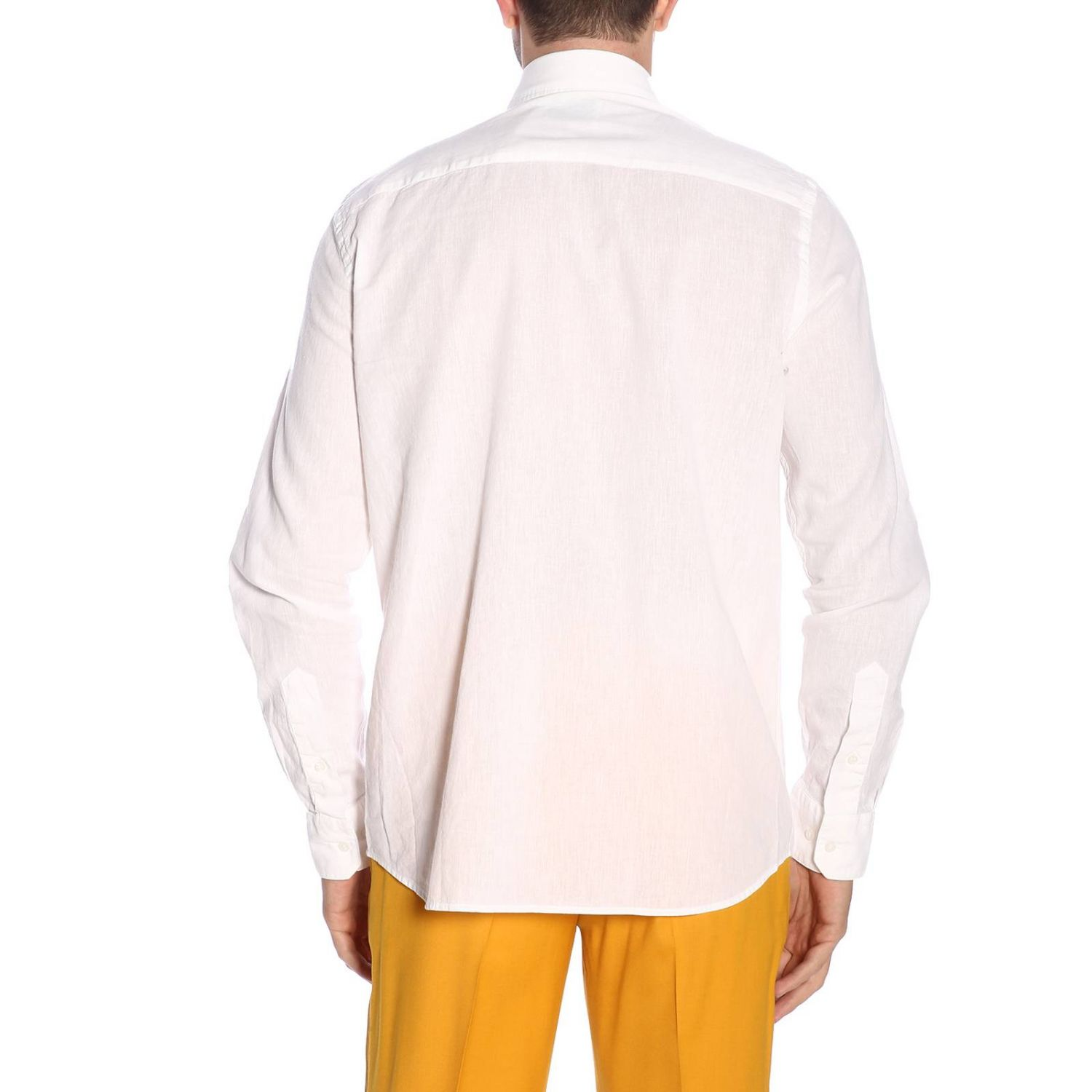 Shirt men Calvin Klein white 3