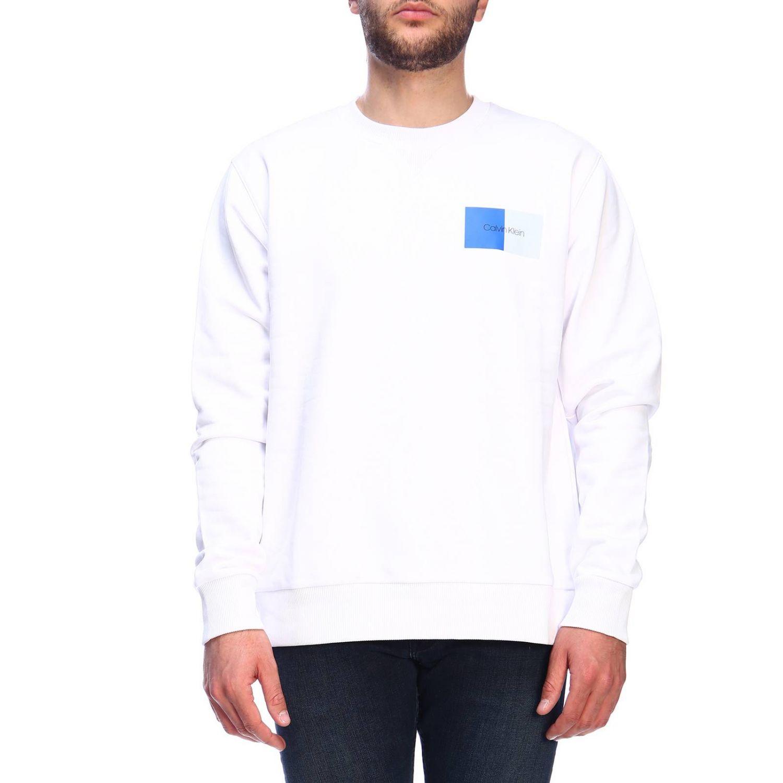 Pullover herren Calvin Klein weiß 1